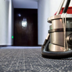Removing gum from carpets